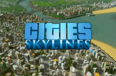 Capa do jogo Cities Skylines