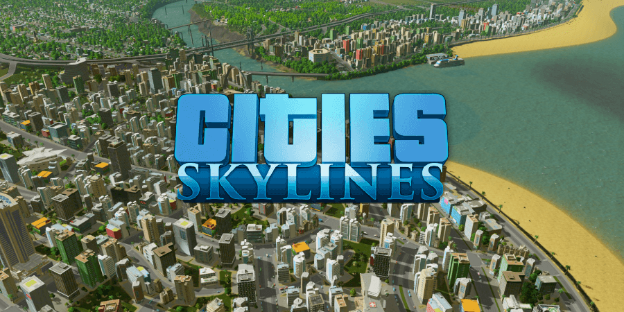 Capa do jogo Cities Skylines