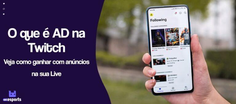 O que é AD na Twitch