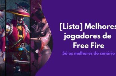 Melhor jogador de Free Fire no Brasil