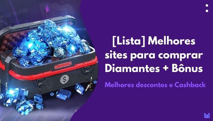 melhor site para comprar diamantes no Free Fire
